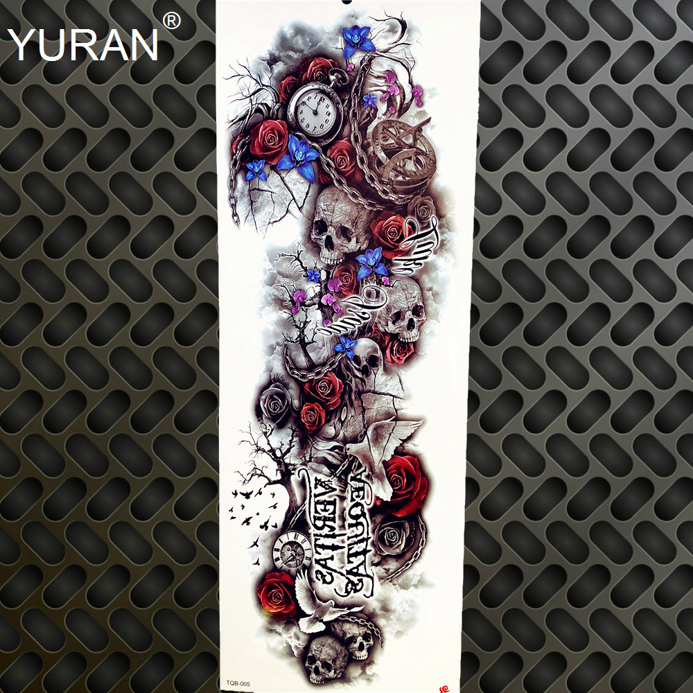 Temporary tattoo lotus flower tiger butterfly tattoo stickers bird temporary tattoo lotus flower tiger butterfly tattoo stickers bird girls women summer stlye full arm legs body fake black tatoo izmirmasajfo
