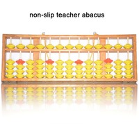 high quality 13 column wood hanger big size NON SLIP Abacus Chinese soroban Tool In Mathematics Education for teacher XMF018