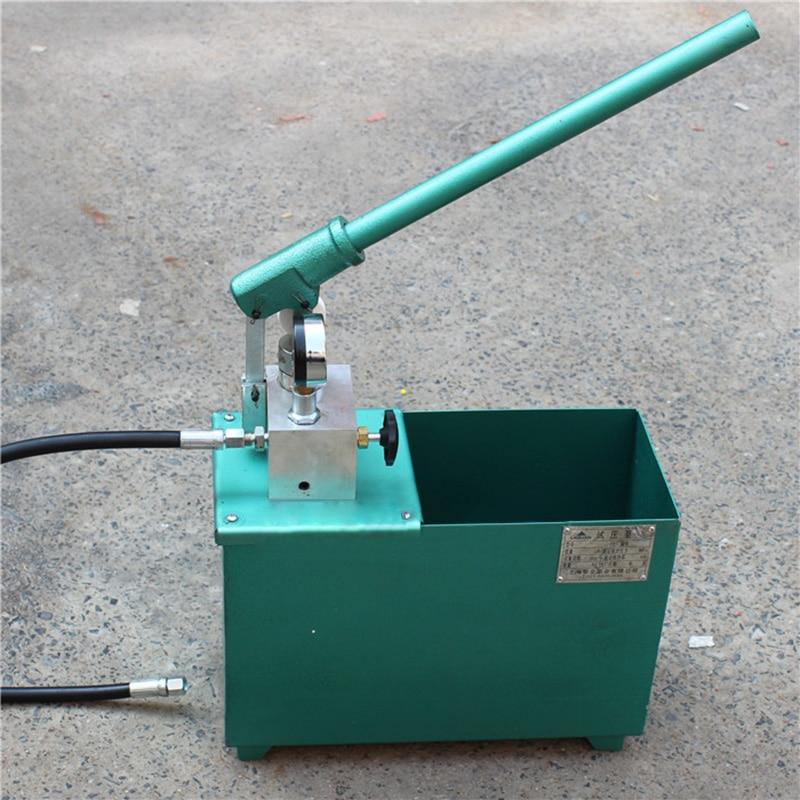 Free shipping by DHL 1pc SYL-4 800KG manual hydraulic test pump 80mpa Press machine Water pipe Числовое программное управление