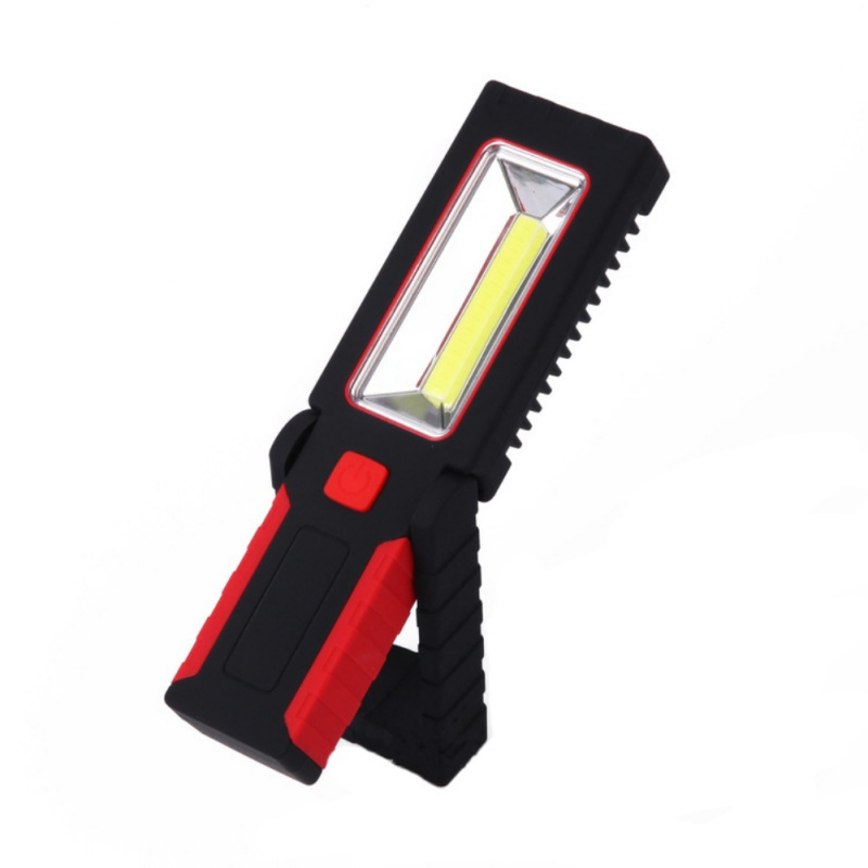 3W + COB Portable LED Light With Magnetic Stand Outdoor Work Light Maintenance Light
