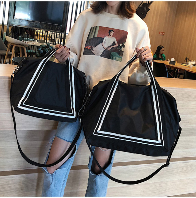 Women Sport Training Gym Fitness Travel Bags Durable Waterproof Nylon Outdoor Sports Handbag Shoulder Tote For Female XA941WD