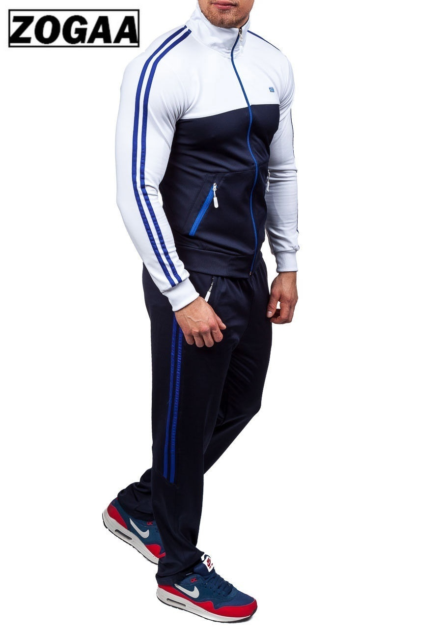 2 Pieces Set For Men Pant And Tops Zogaa 2019 New Men' Fashion Plus Size Xs-4xl Sportswear Men Summertracksuit Sweatsuit