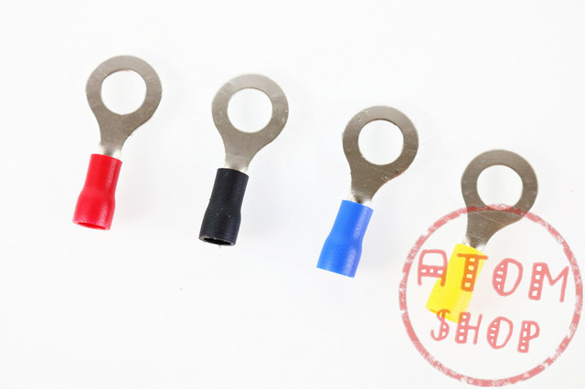 Aliexpress.com : Buy RVS2 5 Blue Ring Insulated Wire Connector ...