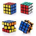 Magia Negro y Blanco 3x3x3 Cubo Juguetes Rompecabezas Profesional Cubo Mágico Puzzle Velocidad Fidget Mano Spinner Juguetes Educativos del cubo MF001