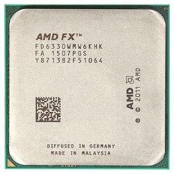 AMD FX 6330 3.6GHz sześciordzeniowy procesor cpu FD6330WMW6KHK gniazdo AM3 +