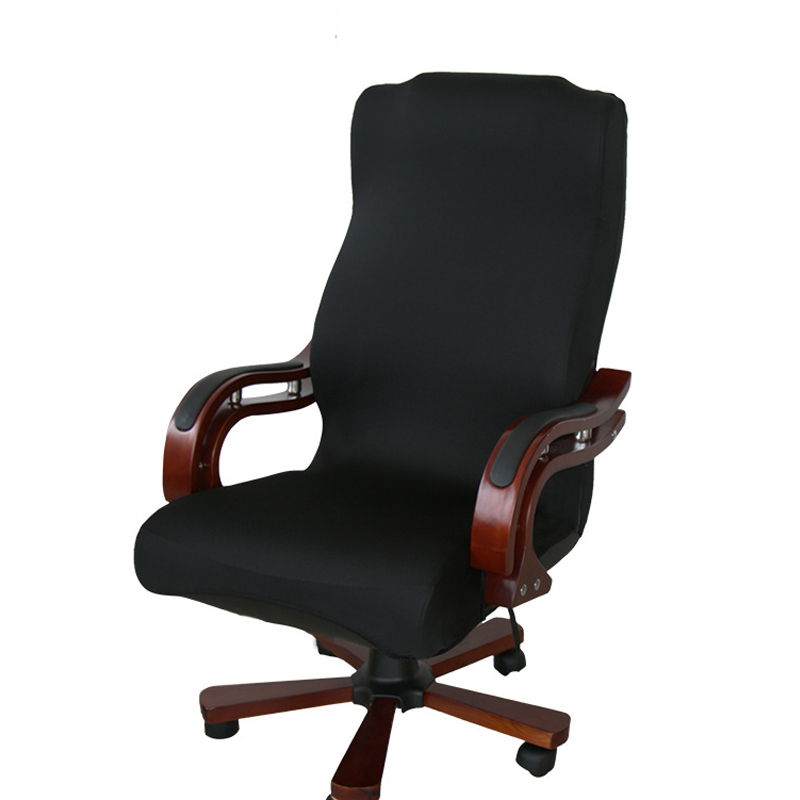 Elasticity Office Computer Chair Cover Side Arm Chair Cover Recouvre Chaise Stretch Rotating Lift Chair Cover Without Chair