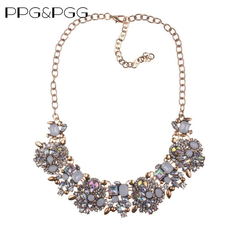 PPG & PGG 2019 NEW Stili Z Choker Fashion Choker, varëse jakë unike, Deklaratë Bizhuteri për Gra gjerdan kristal Maxi