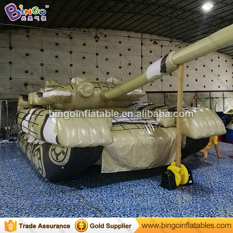 Free Shipping inflatable giant tank model customized 8.8x3.5x2.6M inflatables decoration for outdoor inflatable toys free shipping stock giant inflatable snowman outdoor advertising inflatable christmas decoration