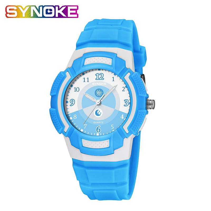 SYNOKE Children's Watches Kids Led Digital Sport Sports Watch Kids Gift Waterproof Watch relogio infantil menino Dropshipping enlarge