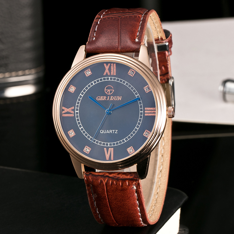 Marca original de los hombres calientes relojes de pulsera de cuarzo - Relojes para hombres