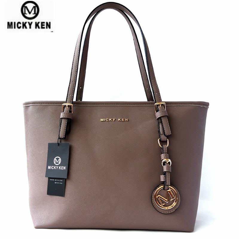 Micky Ken Brand New2019 Women Handbags Big Pu Leather Quality Letter Female Bag Designer Bolsos Mujer Sac A Main Totes 6821