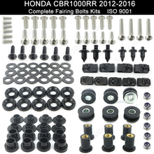 For Honda CBR1000RR 2012 2013 2014 2015 2016 Motorcycle Complete Full Fairing Bolt Kit Clips Stainless Steel Screws Nuts