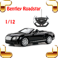 Regalo de Año nuevo Bentley Roadster 1/12 Gran Control Remoto de Coches RC juguetes Modelo de Juguete de Motor Superior Fácil Control Para Niños Fans Collection