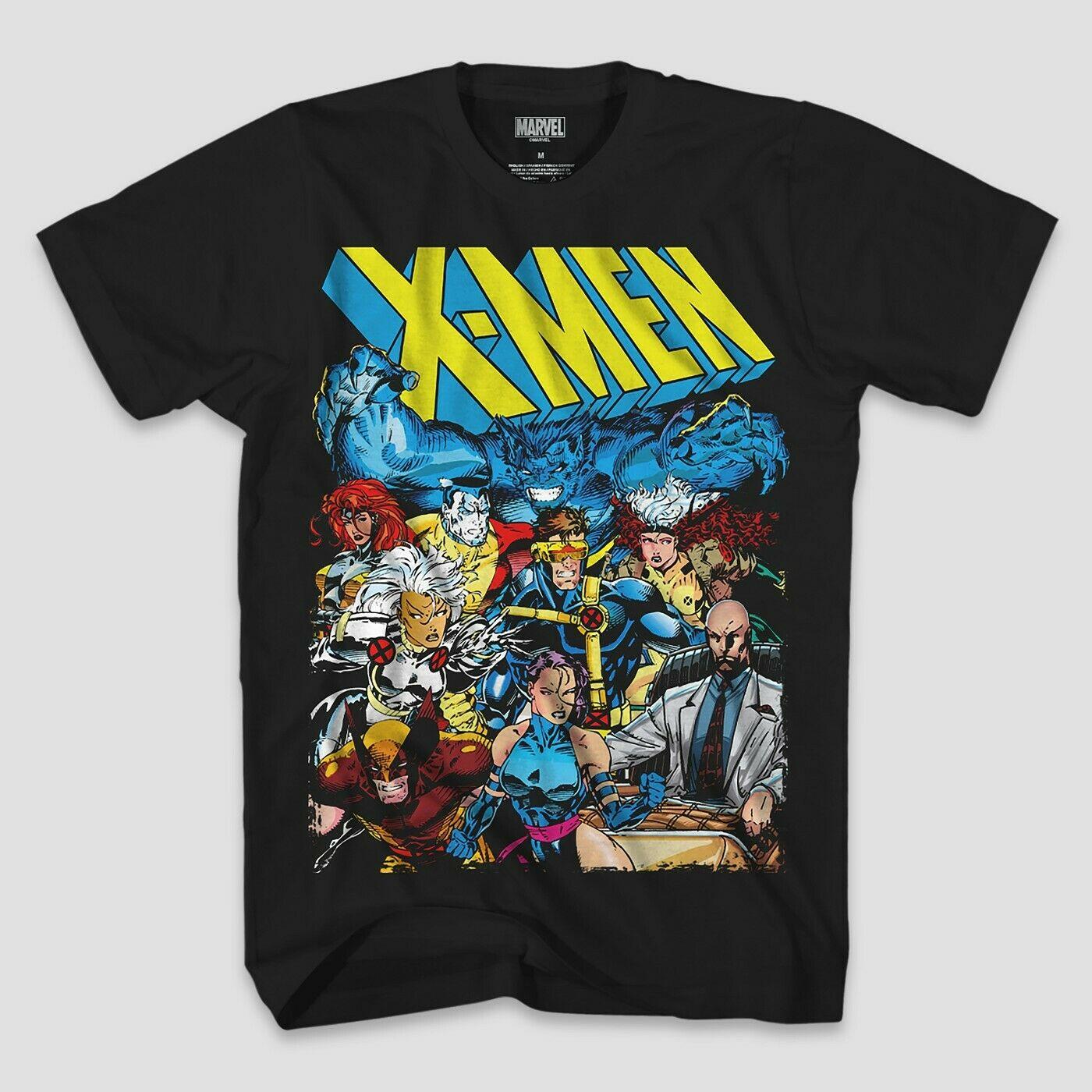 X-men Marvel Comics Gambit White Tees Men/'s T-Shirt Regular Size S-3XL