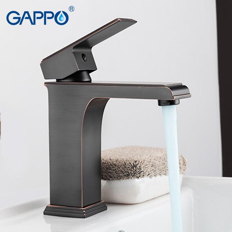GAPPO Basin Faucet bathroom mixer tap waterfall bathroom faucets bath water mixer Deck Mounted Faucets смеситель gappo g3048