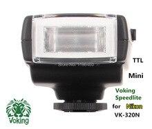 Voking Free Shipping I-TTL Speedlite VK320-N for Nikon D60 D90 D3000 D5000 D5100 D5200 D7000 D7100 Digital SLR Cameras