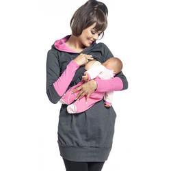 Для кормления толстовки худи для беременных кормящих одежда с капюшоном для беременных Для женщин Беременность кормления осень-зима