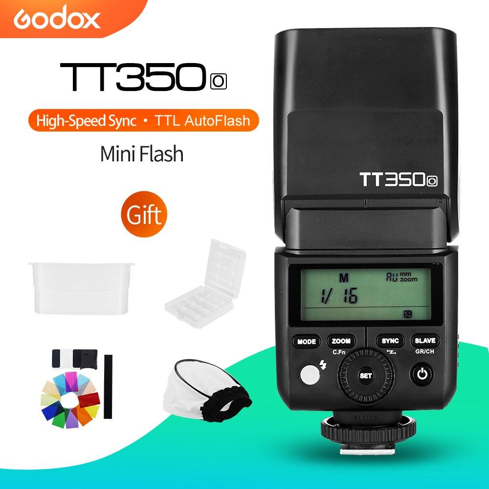 Godox Mini Speedlite TT350O Camera Flash TTL HSS GN36 for Olympus Panasonic Mirrorless DSLR Camera