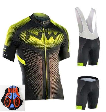 2019 NW männer und Frauen Radfahren Jersey Kleidung Set Fruhling und Sommer männer und Frauen Kurzarm Atmungsaktiv