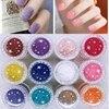1x Jumbo Jar 3D Nail Art Fuzzy Velvet Flocking Powder 10ml Acrylic Polish Tips Manicure Nails Decoration Dip Powder SRF