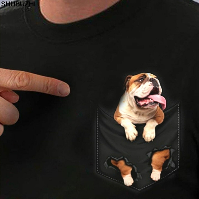 brixini.com - English Bulldog Pocket Tee