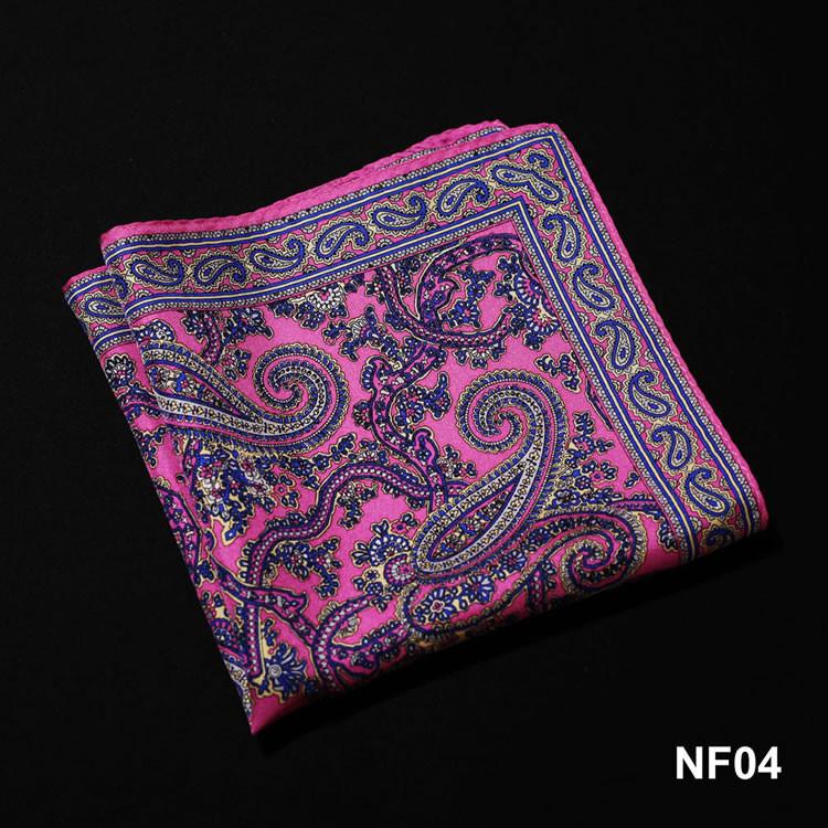 NF04 HN10K Pink Navy Blue Paisley