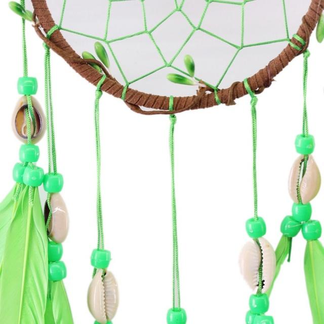Green Shell Dream Catcher