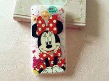 Ponto forma dos desenhos animados Minnie Mouse monstros Sulley macio Phone Case capa para HTC One A9 Desire 728 816 820 826 Coque Fundas