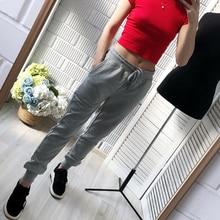 2019 Autunm נשים מכנסיים ומכנסיים מזדמנים נשים בתוספת גודל ספורט מכנסיים טרנינג