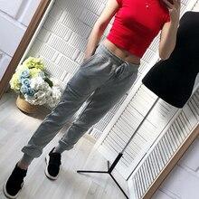 2019 autunm calças femininas e casuais calças femininas plus size calças esportivas sweatpants