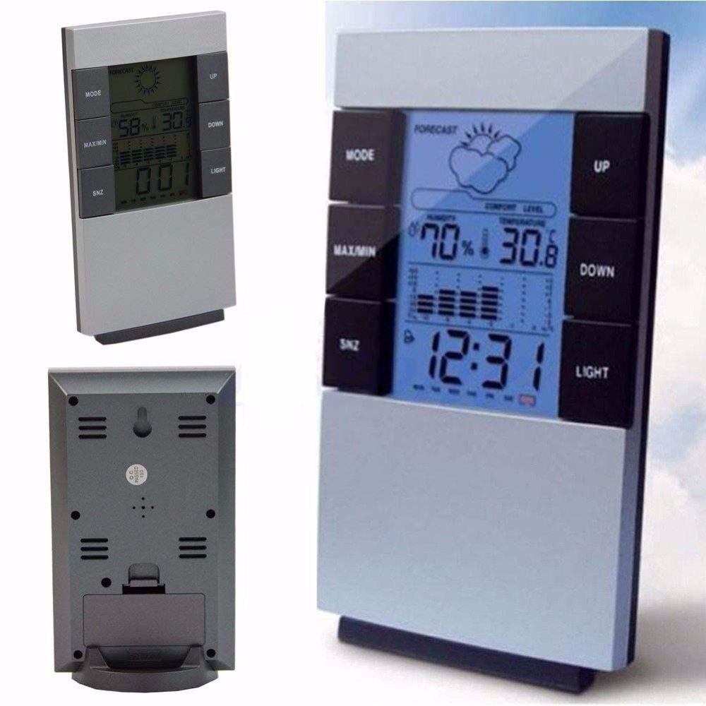 New Digital Hygrometer Indoor LCD Thermometer Temperature