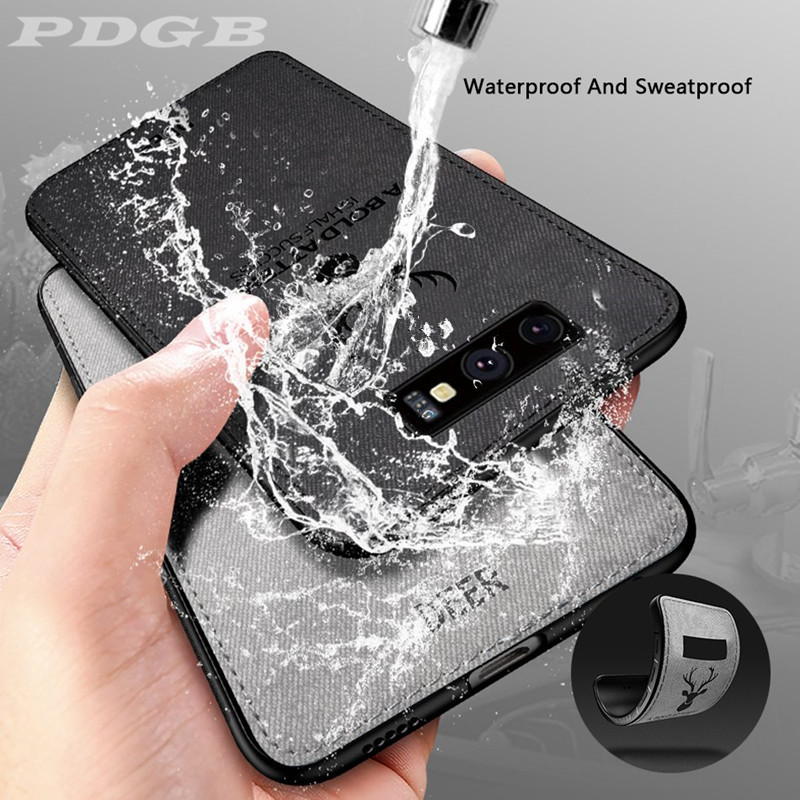 TPU Case Rugged Deer Samsung Galaxy A750 Shell Edge-Plus for Note 8 9/A750/A6/.. Cover