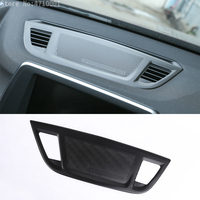 Aluminum Alloy Center Control Console Dashboard Speaker Cover Trim Accessories For BMW X1 F48 2016 2018 X2 F47 2018
