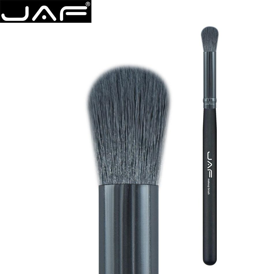 JAF Synthetic Large Dome Kabuki Brushes Cosmetic Face Nose Powder Foundation Eye Blending Brush Eye Shadow Makeup Tool 08SKM jaf 1pcs high quality kabuki brush powder blush brushes large fullfy super soft synthetic hair cosmetics makeup tools 18gky