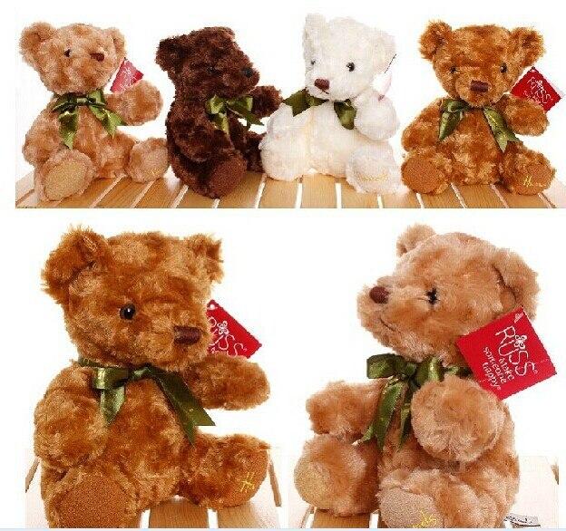 테디 베어 귀여운 인형 장난감 테디 베어 장난감 인형 10 점 세트