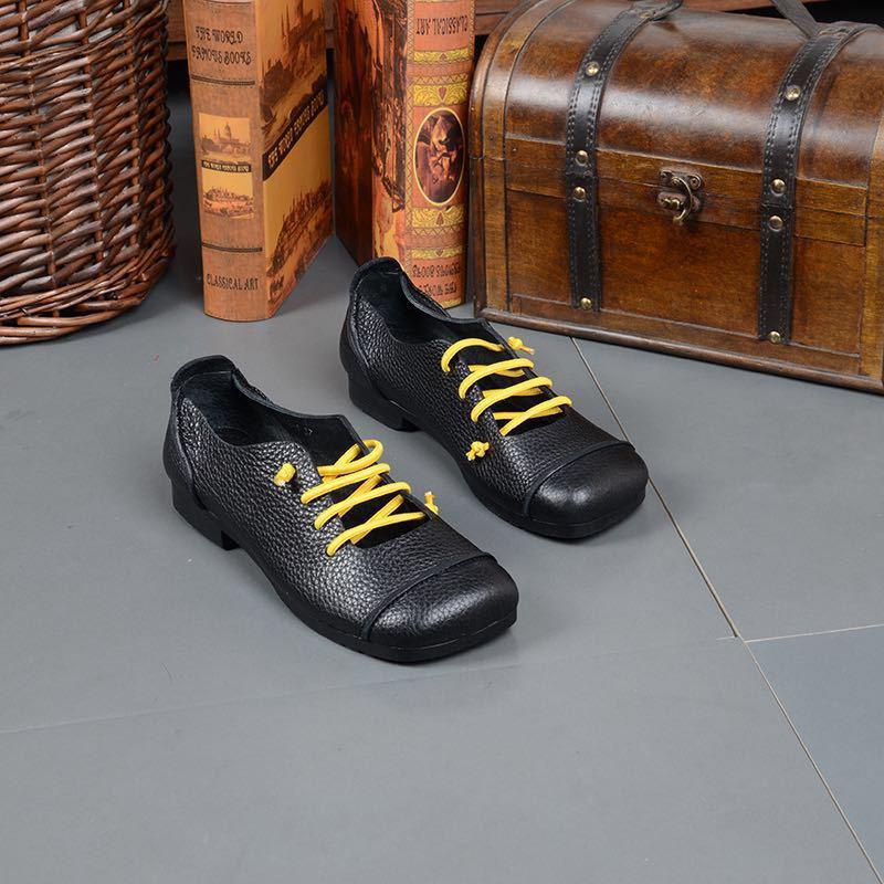 Cabeza De Elástica Las Casual Mary Mujeres Jane Cuadrados Cuero Zapatos Perezosos Boca Banda Baja 5HOvHwq