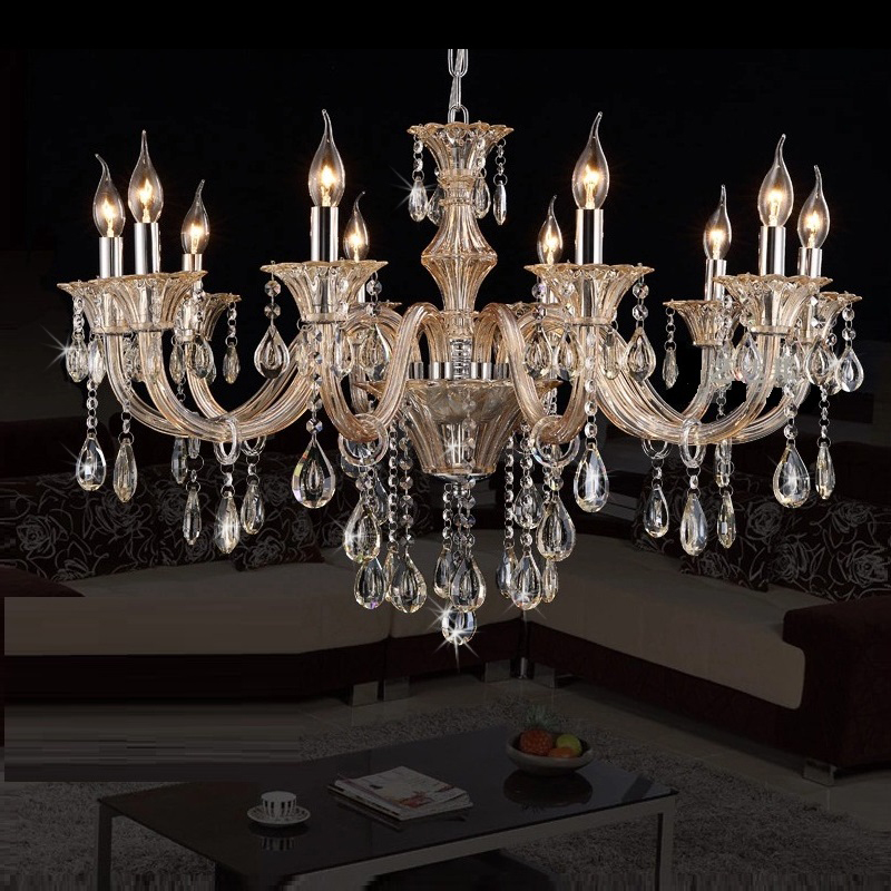 Chandelier Crystal Lighting Modern Light Living Room Chandeliers Bedroom Chandelier Pendants Living Room Indoor Crystal Lamp crystal flower pendant light modern lighting living room lamp bedroom lamp aisle lighting