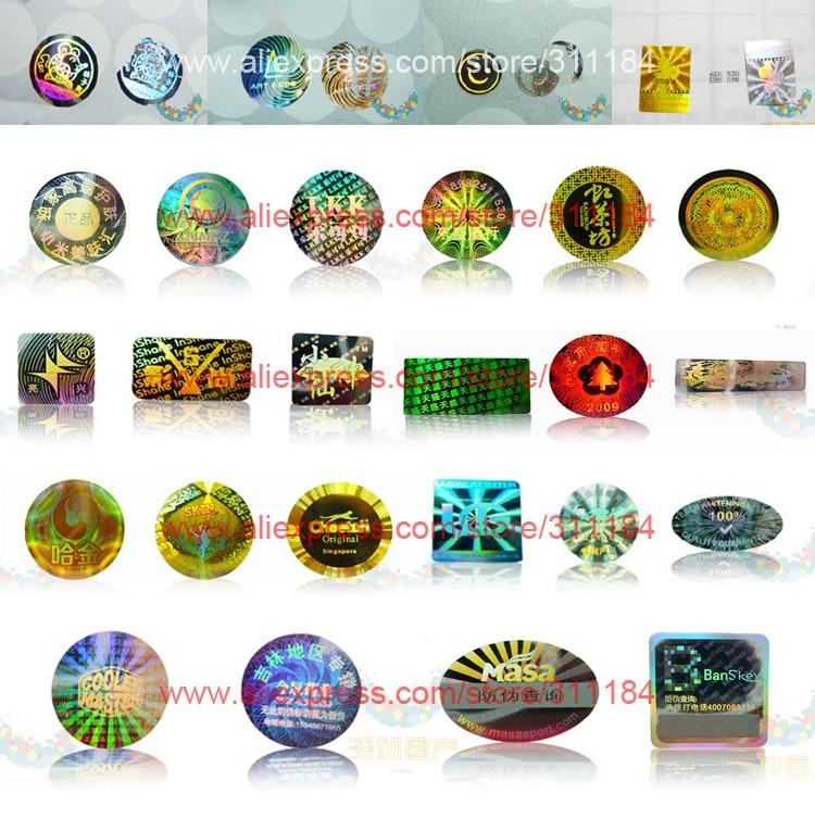 Aliexpress.com : Buy Custom Logo Hologram Sticker Printing