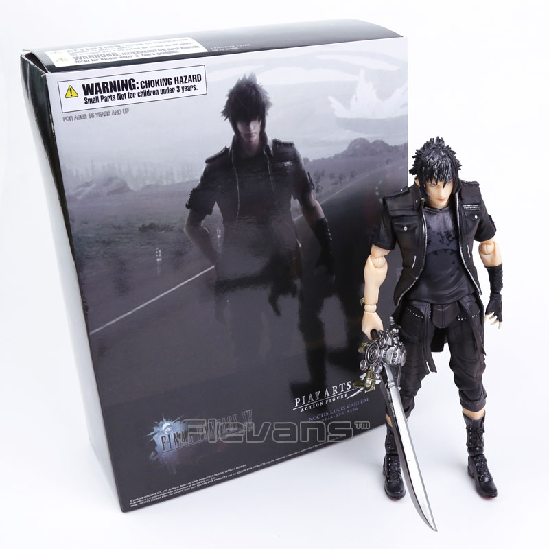 Playarts KAI Final Fantasy XV FF15 Noctis Lucis Caelum PVC Action Figure Collectible Model Toy