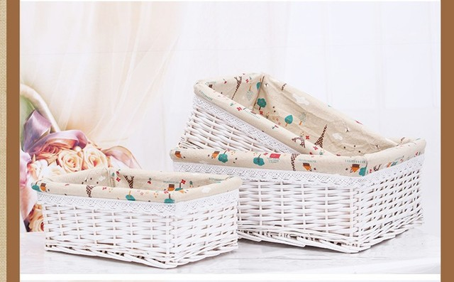 small laundry baskets picnic basket wicker decorative storage basket gifts for fruit baby toys shopping dirty - Decorative Storage Baskets