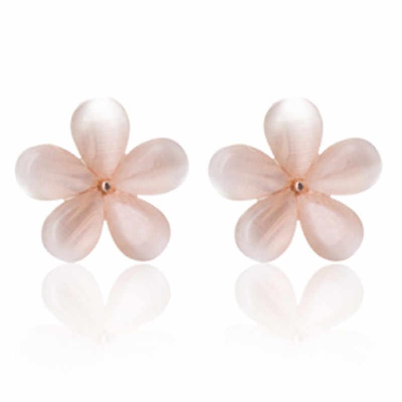 2018 nuovo hot spot! moda Gioielli In Oro Premium Molto Bello Puro Cristallo Opale Orecchini Cherry Blossom Orecchini