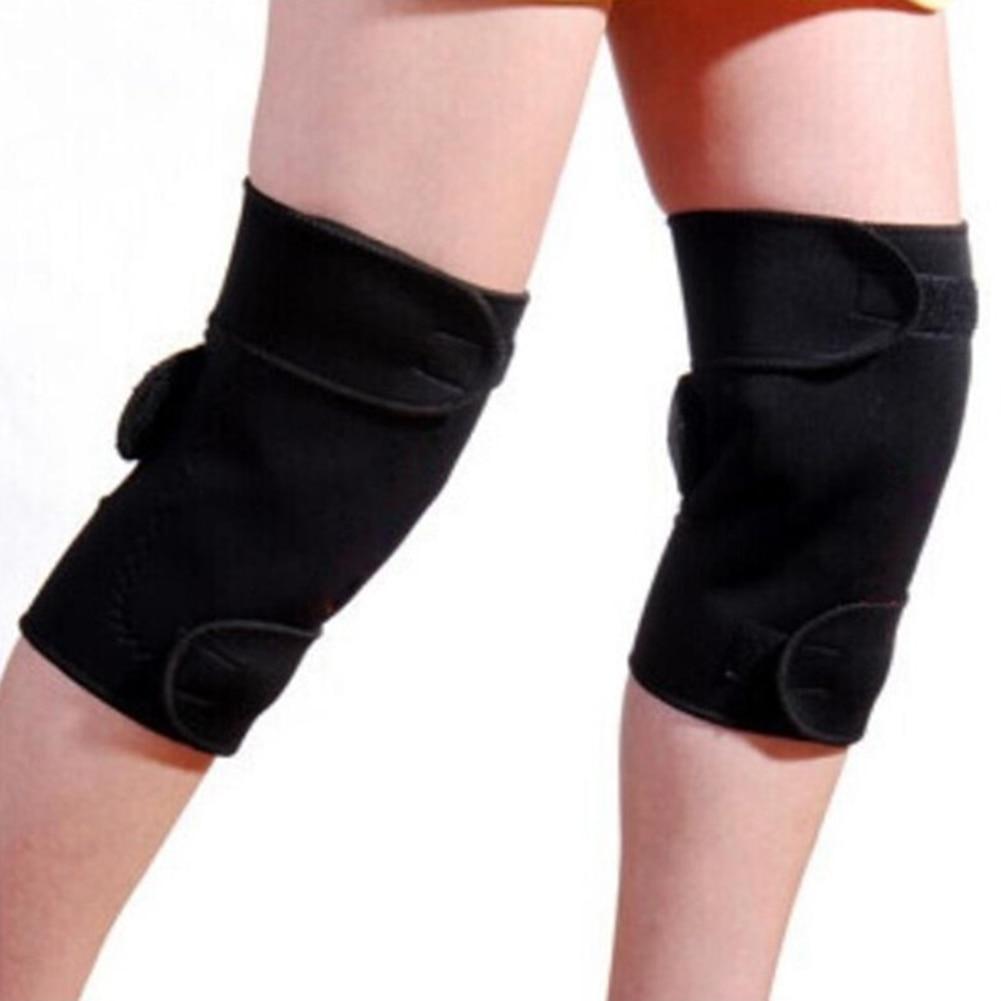 Joylife 1 Pair Tourmaline Self Heating Knee Pads Magnetic Therapy Kneepad Pain Relief Arthritis Brace Support Patella Knee 1