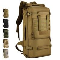 50L Large Portable Shoulder Outdoor Backpack Men Women Messenger Army Tactical Backpack Molle Hiking Camping Luggage Bag S430