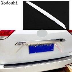 Carstyling tylna klapka licencja klapa tylna ramka bumpera listwa wykończeniowa lampa bagażnik kaptur 1 sztuk dla Toyota Sienna 2015 2016 2017 2018