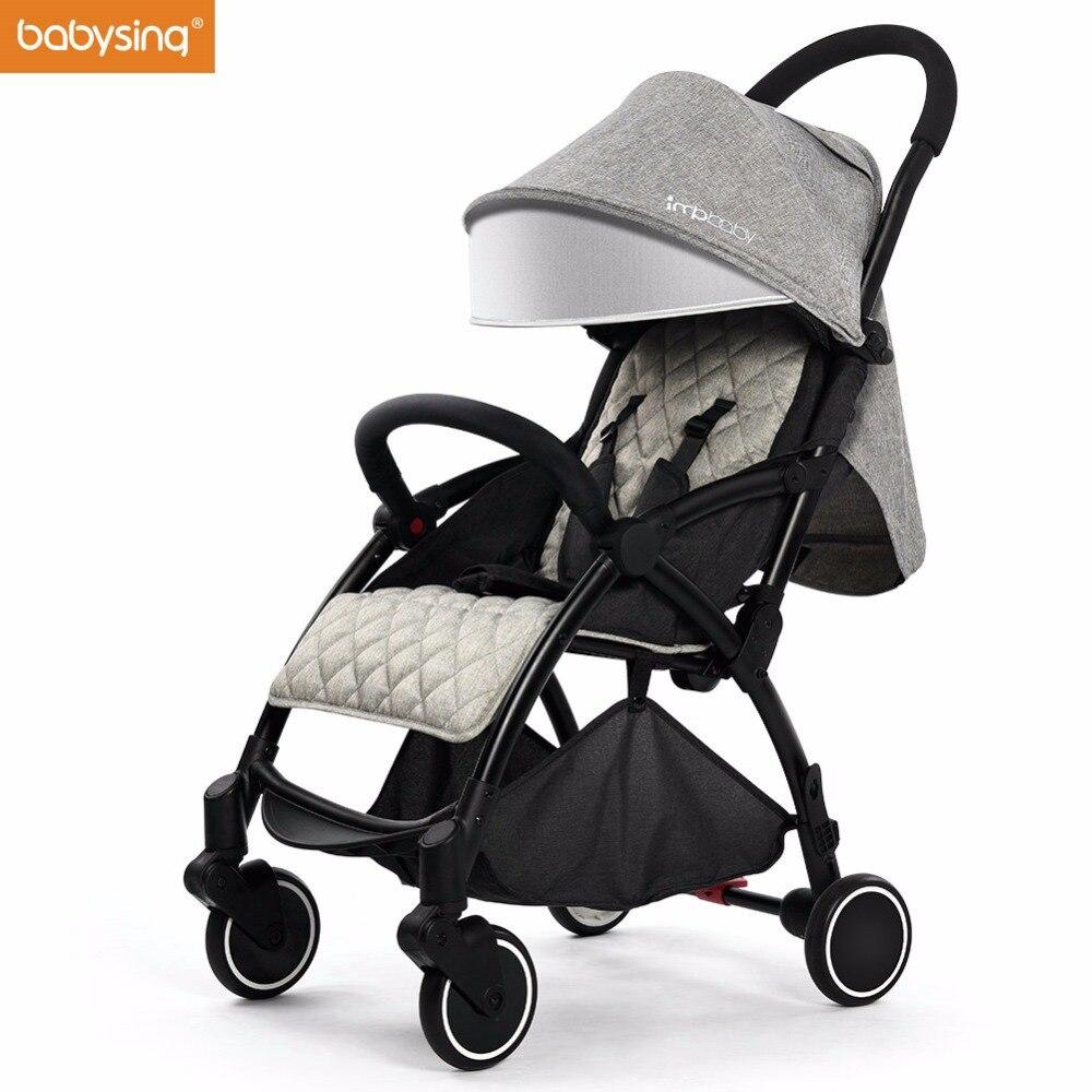 Babysing легкий Детские коляски подходит для сезон: весна–лето складная дорожная зонтик коляска легко положить в самолет и поезд