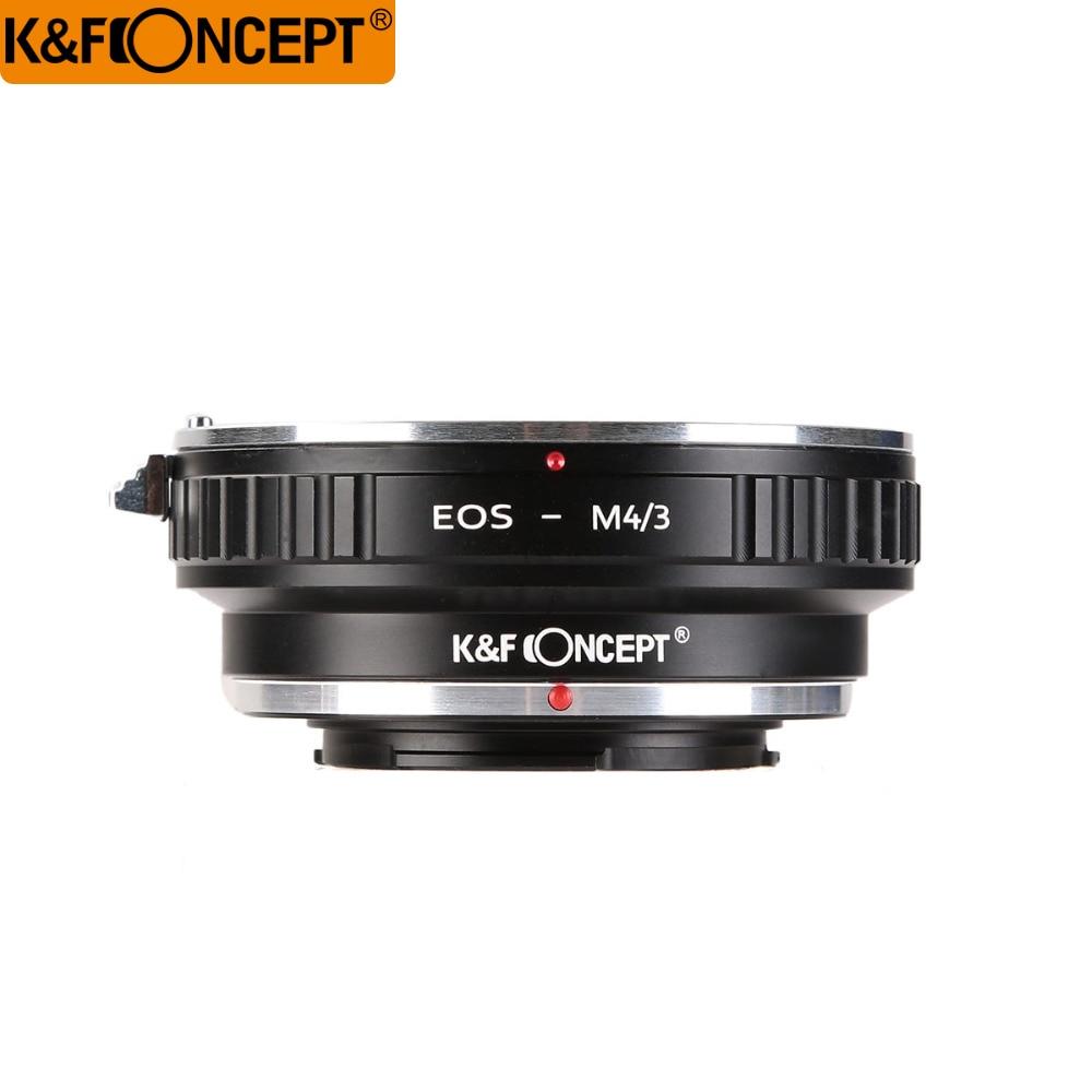 K & F Conceito Adaptador de Lente para Canon EOS EF monte Lens para M4/3 MFT para Olympus CANETA e para Panasonic Lumix Câmeras EOS-M4/3