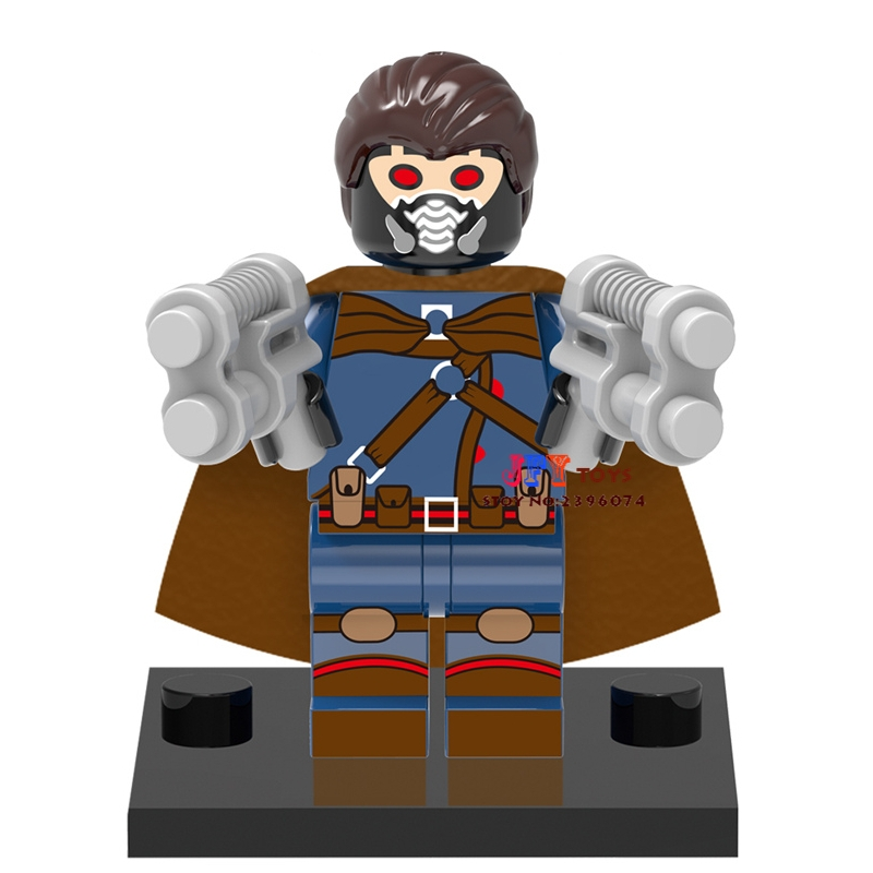 Single Sale star wars superhero marvel Starlord building blocks model bricks toys for children brinquedos menino