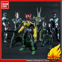 100% Original BANDAI SHODO VS vol.7 Action Figure Kamen Rider VS7 Full Set of 6 Pieces