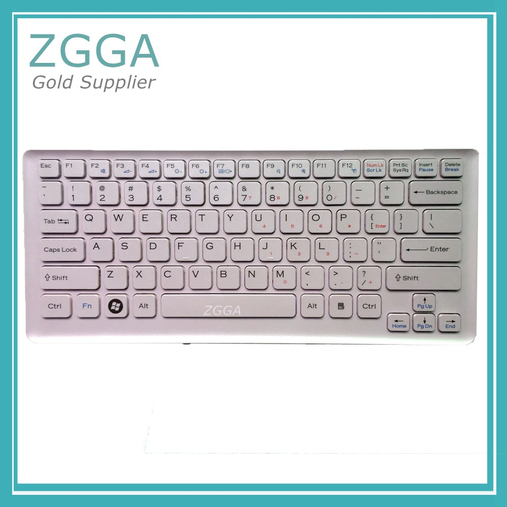 GENUINE NEW 148701522 AEGD2700030 For SONY VAIO VGN-CS Laptop Keyboard with Pink Frame Repair Parts Aliexpress Original Seller original usb keyboard for sony vaio all in one machine for original sony japanese keyboard high quality for compute pc laptop
