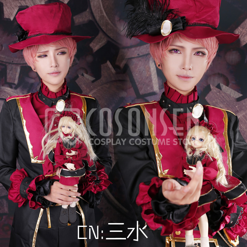 COSPLAYONSEN Ensemble Stars Valkyrie Itsuki Shu Halloween Cosplay Costume full set with hat